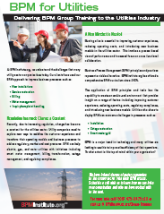 Group Training for Utilities